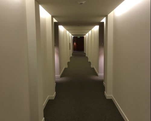 commercial-painters-hallway