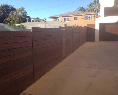 wood-staining-driveway-wall
